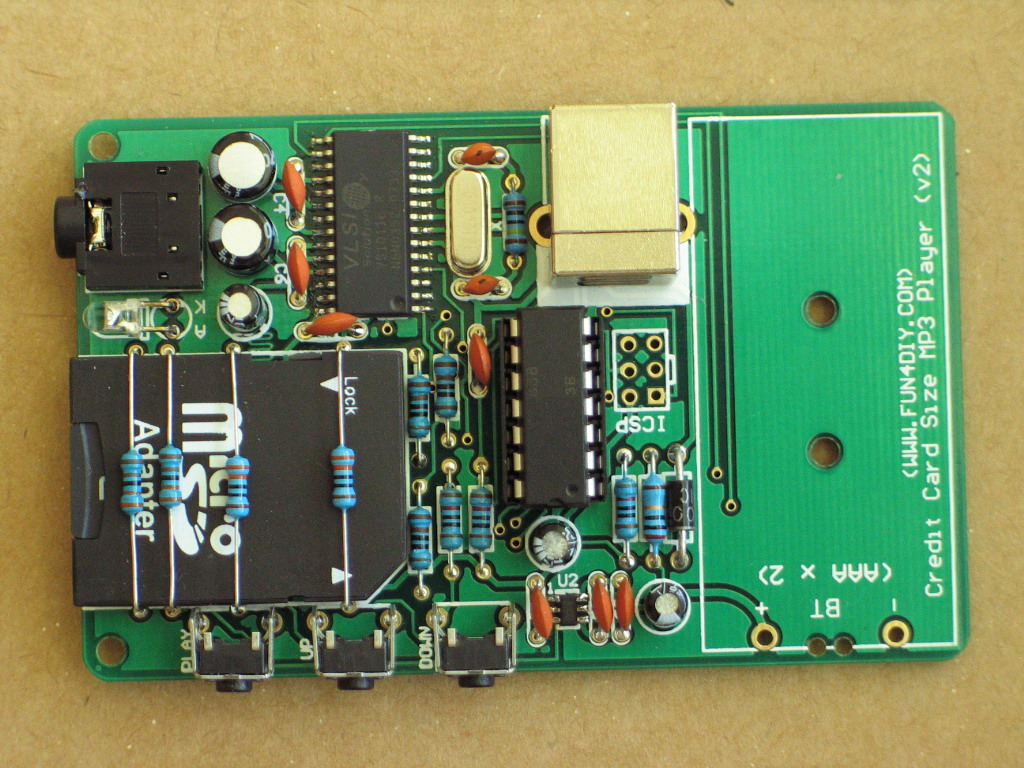 Make Your Own Mp3 Player How To A Simple Circuit Board